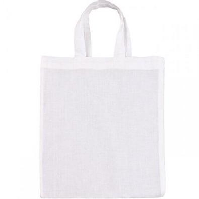 Joytex® Mini-Baumwolltasche, weiß