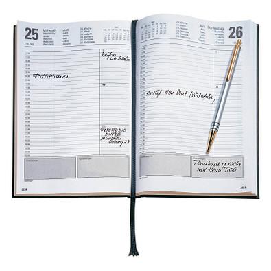 terminax® Buchkalender 2022, schwarz