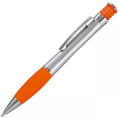 LANCE Druckkugelschreiber Nevada, vsilber/orange