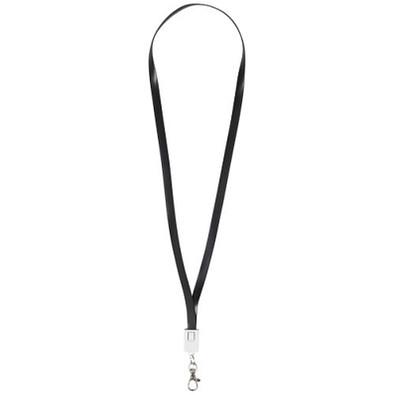 2-in-1 Ladekabel im Clip, schwarz