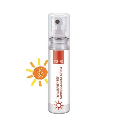 20 ml Pocket Spray  - Sonnenschutzspray transp. LSF 30 - Body Label