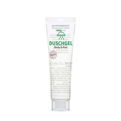 "20 ml Tube. kristallklar - Duschgel ""Body & Hair"" - RealityPrint"