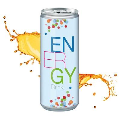 250 ml Energy Drink - Body Label