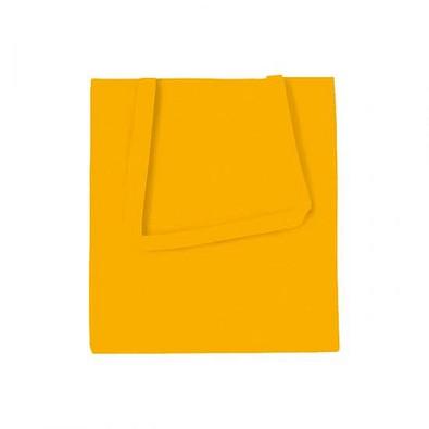 Joytex® Vliestasche Textile mit langen Henkeln, gelb