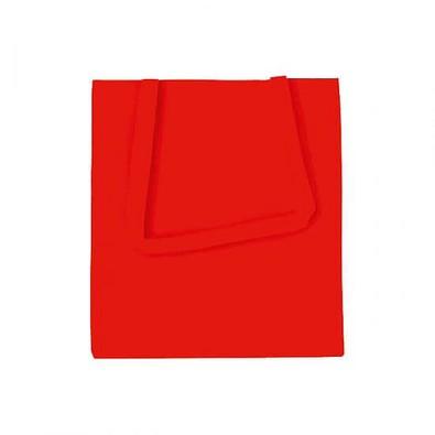 Joytex® Vliestasche Textile mit langen Henkeln, rot