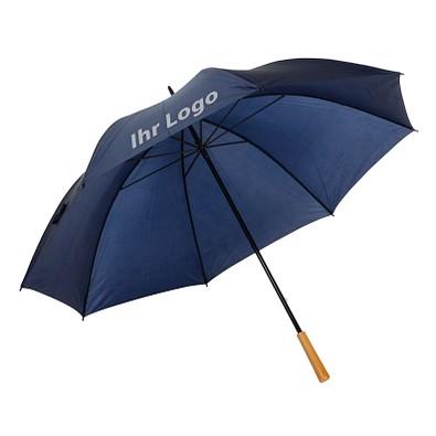 Golfschirm Raindrops, dunkelblau