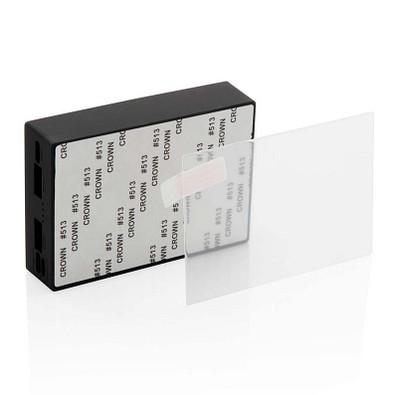 XD COLLECTION Wireless Powerbank mit Sicherheitsglas, 5.000 mAh, schwarz