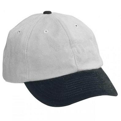 Heavy-Cap, schwarz/hellgrau