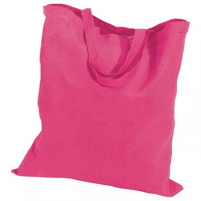 Joytex® Baumwolltasche, kurze Henkel, pink