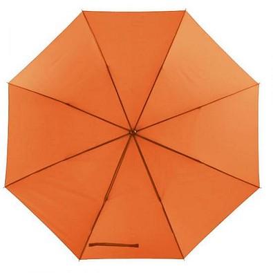 Portierschirm mit Hülle, orange