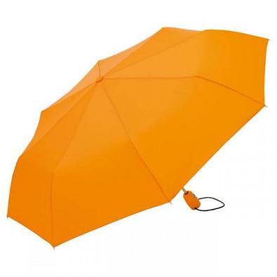 FARE®  Automatik-Taschenschirm Open-Close, orange