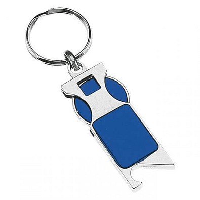 Schlüsselanhänger Paul, Blau