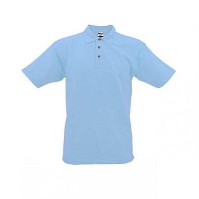 JAMES & NICHOLSON Unisex Poloshirt, hellblau, XXXL