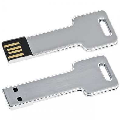 Edelstahl USB Stick Key, 8 GB, silber