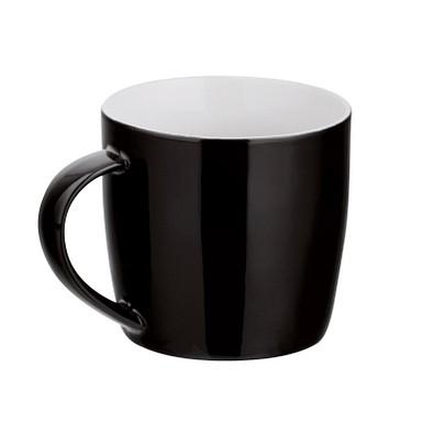Keramiktasse Lara, schwarz