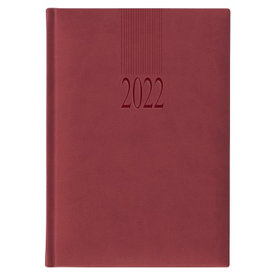 Chef-Buchkalender Tucson 2022, bordeaux