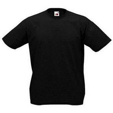 FRUIT OF THE LOOM® Unisex T-Shirt Valueweight T, schwarz, XXL