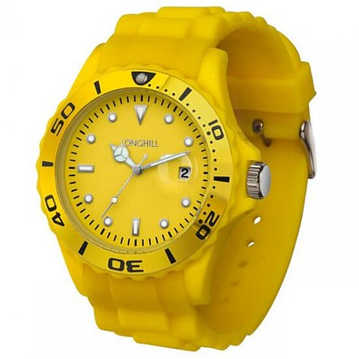Armbanduhr Style, Gelb
