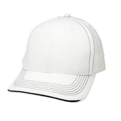 Sandwich-Cap Kontrast, Weiß/Navy