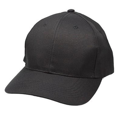 6-Panel-Cap Base, schwarz