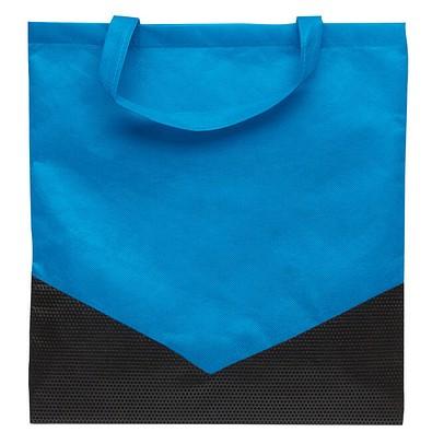 Joytex® Vliestasche Arrow, hellblau/schwarz
