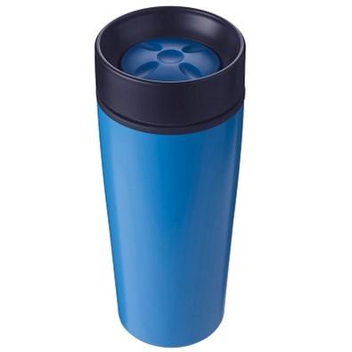 Edelstahl-Isolierbecher Fun, 450 ml, blau