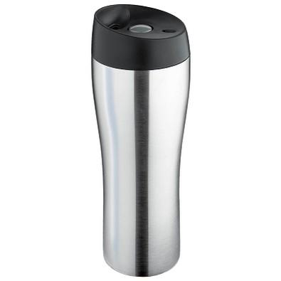 ISOSTEEL® Vakuum-Isolierbecher, 400 ml, silber