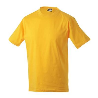 JAMES & NICHOLSON Herren T-Shirt, gelb, L