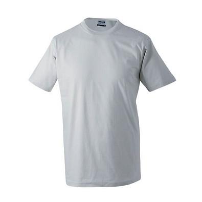 JAMES & NICHOLSON Herren T-Shirt, grau, XXL