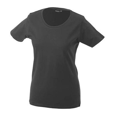 JAMES & NICHOLSON Damen T-Shirt, dunkelgrau, M