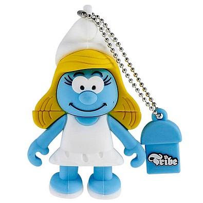 USB-Sticks Schlümpfe, Schlumpfine, 4 GB, blau