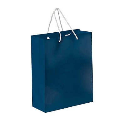 Papiertasche Paper, dunkelblau