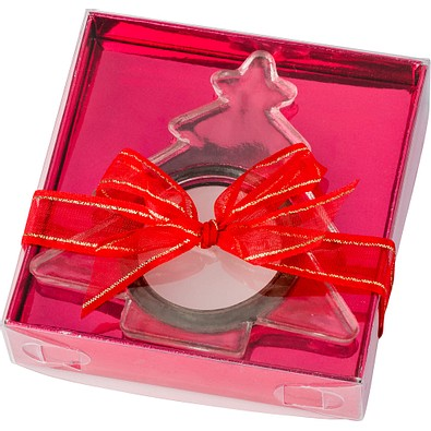 Kerzen-Set Lichterglanz, Tannenbaum, Transparent
