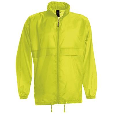 B&C Collection Unisex Windbreaker Jacke, gelb, L