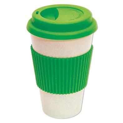 Coffee to go Becher Geo Cup, 400 ml, apfelgrün