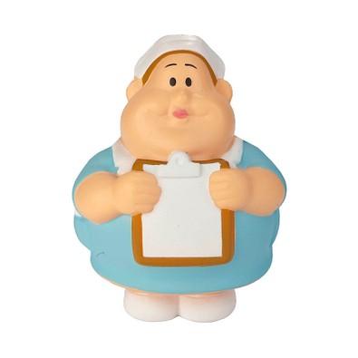 Herr Bert® Anti-Stress-Figuren Schwester Berta, hellblau