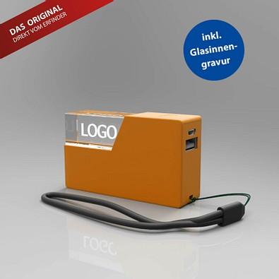 Powerbank 3D, 2.600 mAh, orange