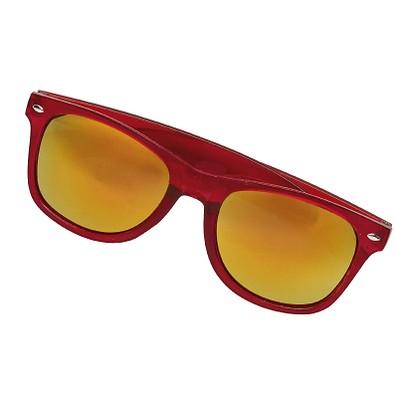 Sonnenbrille Sunshine verspiegelt, Rot