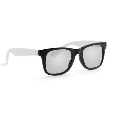 Sonnenbrille Australia, Weiß/Schwarz