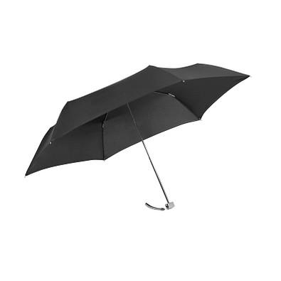 Samsonite Mini-Taschenschirm Rain Pro Flat, schwarz