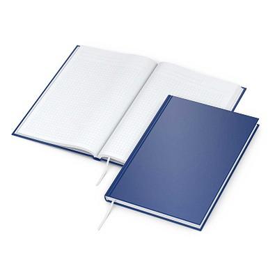 geiger notes Notizbuch Note:Book, Neutral, DIN A5, kariert, blau-matt