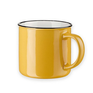 Keramiktasse Camper, 360 ml, gelb