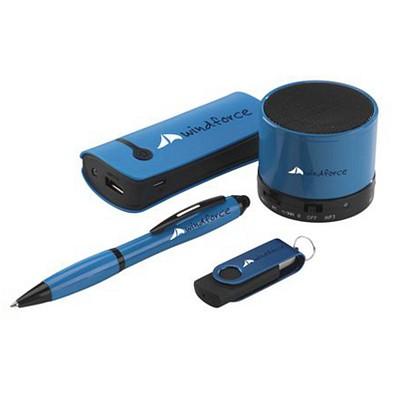 Set Power-Box, 4.400 mAh, 16 GB, blau