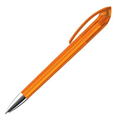 burger swiss pen® Drehkugelschreiber Beo-Brilliant, orange-transparent