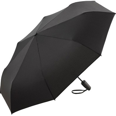 FARE® Mini-Taschenschirm Color Reflex AOC, schwarz