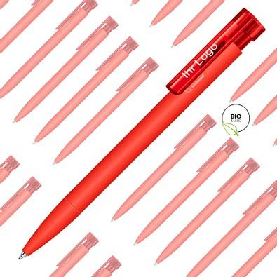 Spar-Preis senator® Kugelschreiber Liberty Bio, 500 Teile, inkl. 1-fbg. Druck, blaue Mine, rot