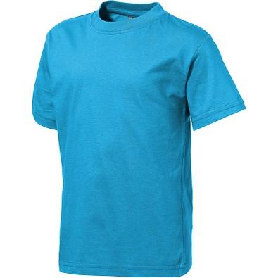 Slazenger™ Kinder T-Shirt Ace, türkis, 128