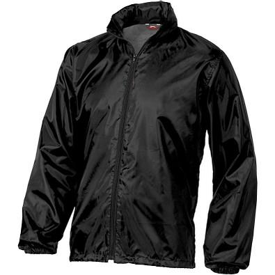 Slazenger™ Unisex verstaubare Jacke Action, schwarz, XL