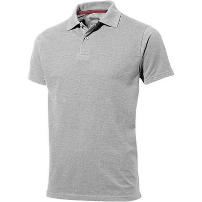 Slazenger™ Herren Poloshirt Advantage, grau meliert, XXXL