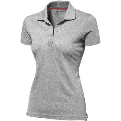 Slazenger™ Damen Poloshirt Advantage, grau meliert, L